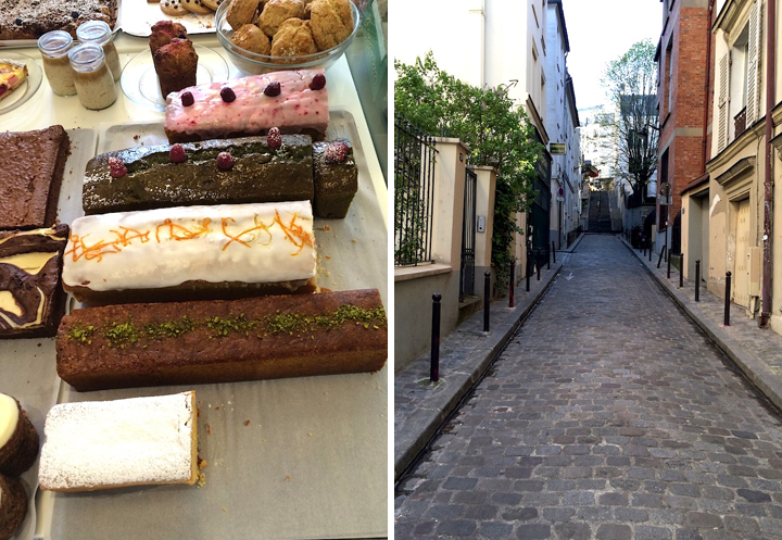 My Montmartre, HiP Paris Blog, Photo by Erica Berman Rose Bakery and Montmartre Streets