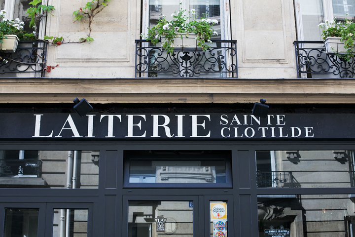 Restaurants near Le Bon Marche, La Laiterie Saint Clothilde, HiP Paris Blog, Photo by Carin Olsson