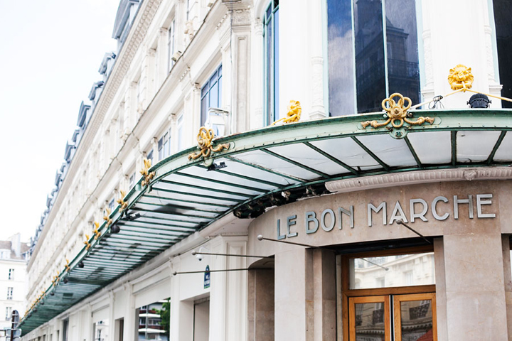 Restaurants near Le Bon Marche, Le Bon Marche, HiP Paris Blog, Photo by Carin Olsson
