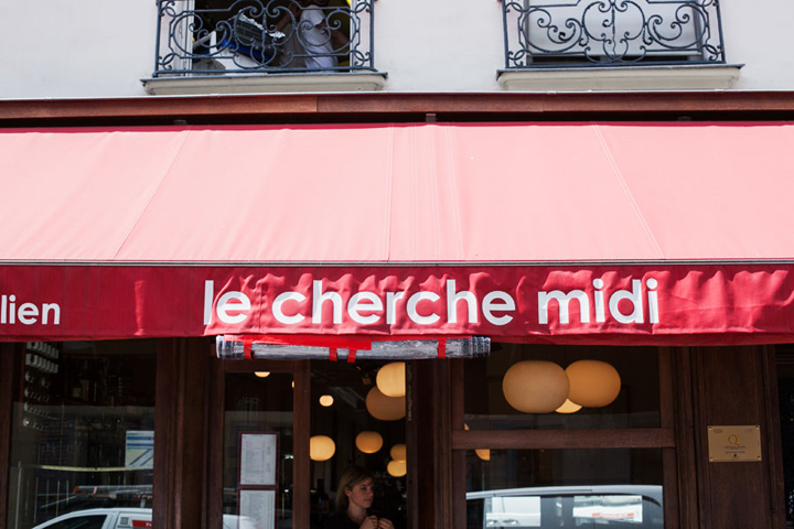 Restaurants near Le Bon Marche, Le Cherche Midi, HiP Paris Blog, Photo by Carin Olsson