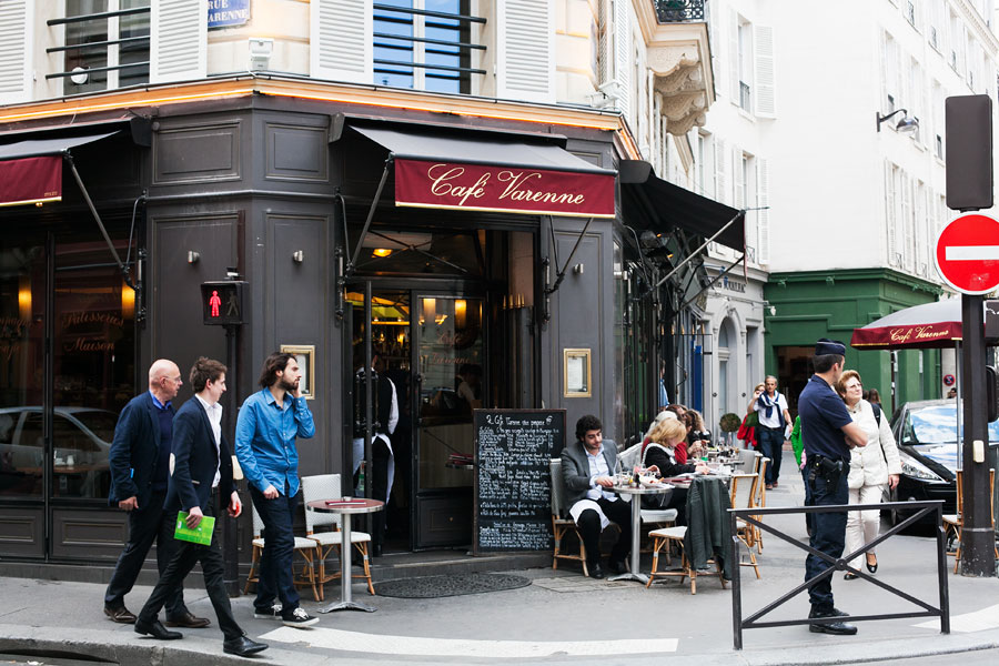 Cafe Le Lutetia Paris