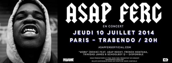 HiP Paris Blog, July Events, A$AP Ferg
