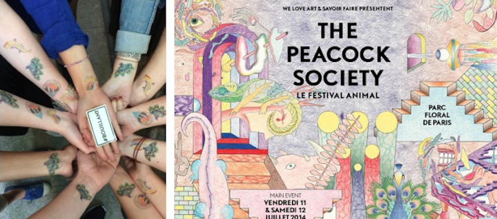 HiP Paris Blog, July Events, The Peacock Society