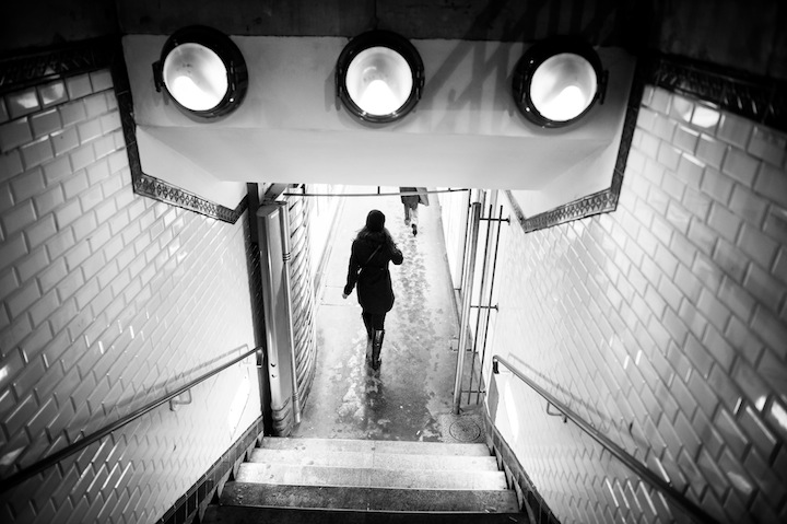 Paris in Black & White, Metro 2, Michael Kandel