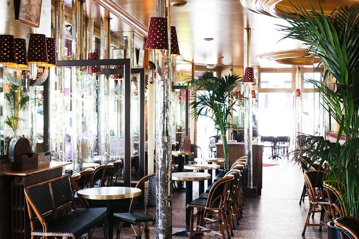 Top Five Cafes in Paris, HiP Paris Blog, Au Pere Tranquille, by Carin Olsson