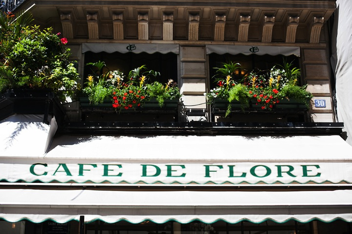 Top Five Cafes in Paris, HiP Paris Blog, Cafe de Flore, by Carin Olsson