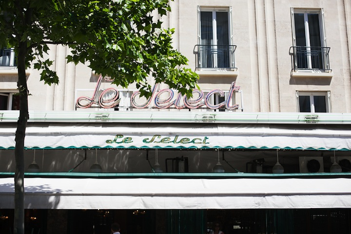 Top Five Cafes in Paris, HiP Paris Blog, Le Select, by Carin Olsson