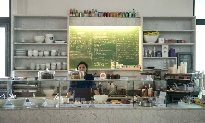 Exploring the Hidden Gems of Paris' Chic 16th Arrondissement, like Tokyo Eat at the Palais de Tokyo Museum for good sushi on the go, or other Japanese delights you can see in the glass counter.