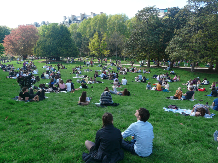 HiP Paris Blog, Benjamin Dumas, Parc Monceau