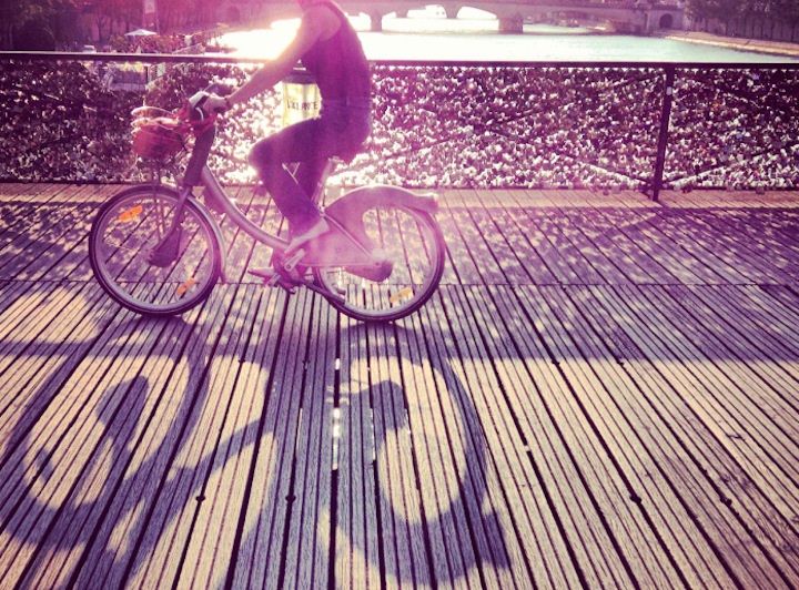 HiP Paris Blog, Biking in Paris, Anna Brones