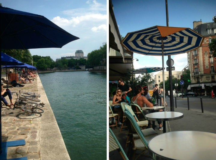 HiP Paris Blog, August in Paris, Isabel Miller-Bottome plages, pause
