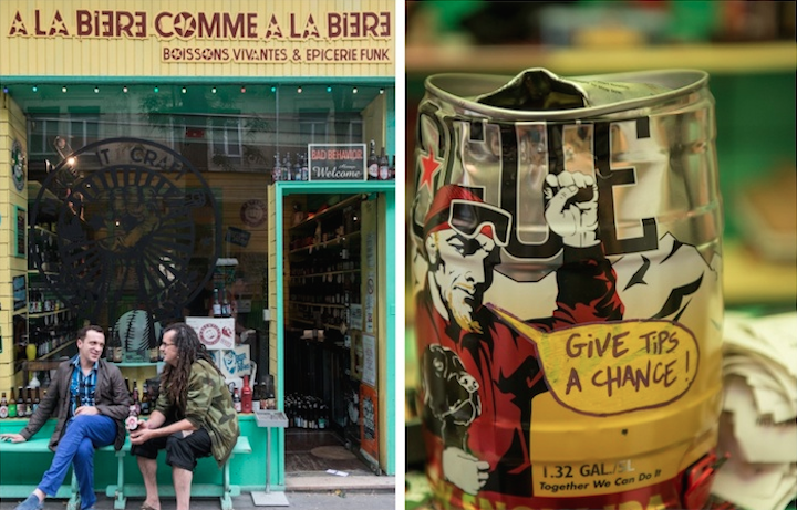 HiP Paris Blog, Craft Beer Shops, Palmyre Roigt, A La Bierre Comme A La Bierre, montage 1
