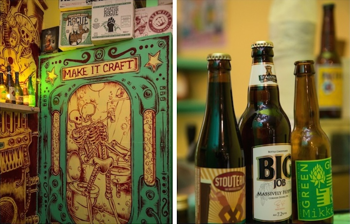 HiP Paris Blog, Craft Beer Shops, Palmyre Roigt, Les Caves a Bieres, montage 2