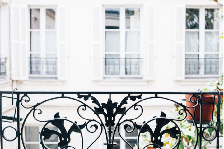HiP Paris Blog, Flathungters, Carin Olsson, Balcony