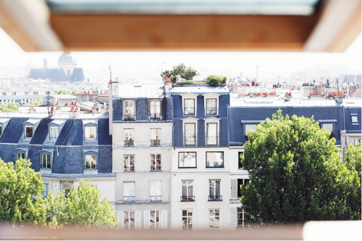 HiP Paris Blog, Flathunters carin olsson, view