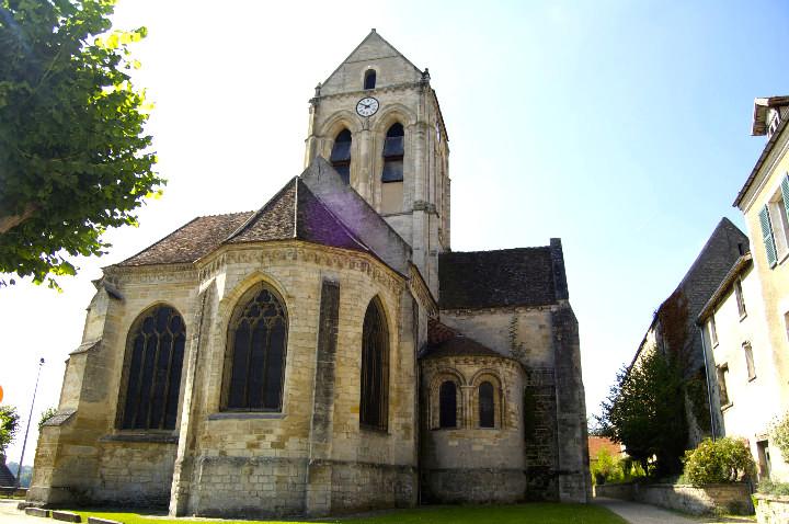 HiP Paris Blog, Van Gogh, Isabel Miller-Bottome, L'Eglise d'Auvers sur Oise
