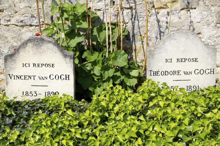 HiP Paris Blog, Van Gogh, Isabel Miller-Bottome, cimitiere d'auvers sur oise