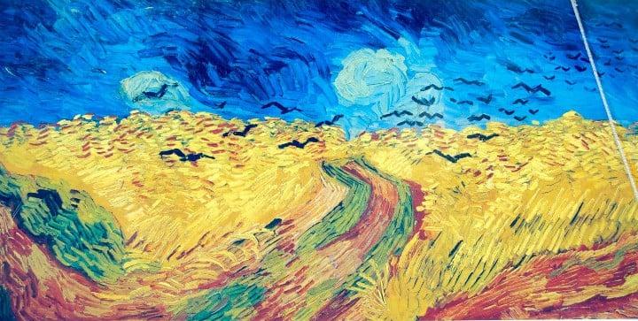 Hip Paris Blog, Van Gogh, Isabel Miller-Bottome, Champ de Ble aux corbeaux