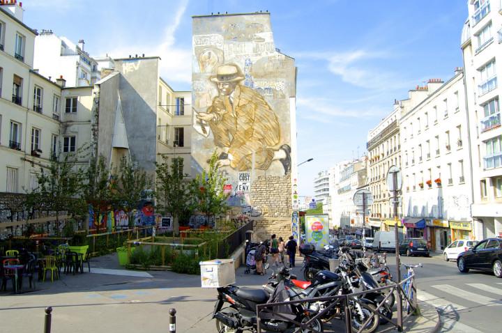 20eme, Street Art Building