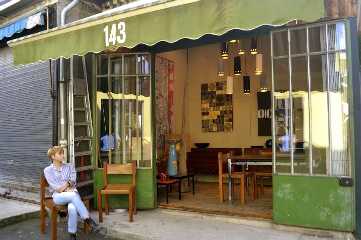 HiP Paris Blog, Flea Market, Emma Stencil, Artocarpus