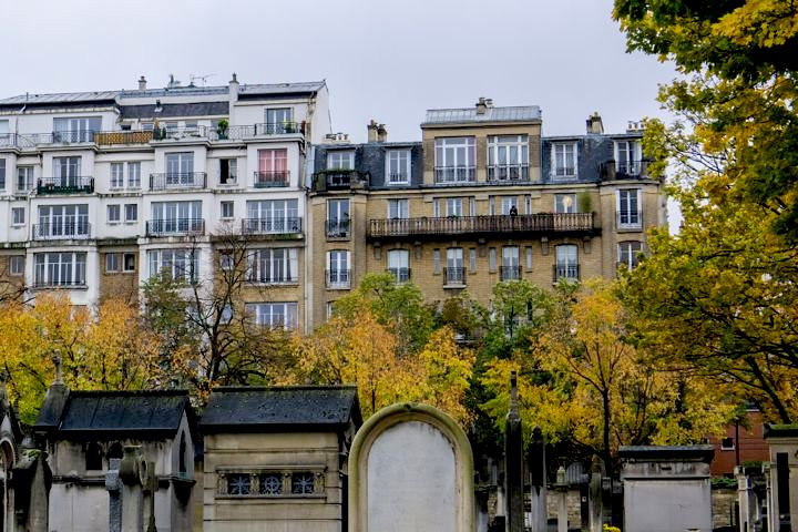 Montparnasse Cemetery building, alans1948