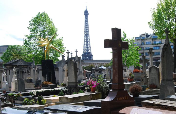 Passy Cemetery Eiffel Tower, Kimble Young