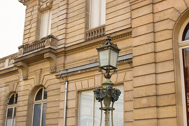 The elegant architecture of the 8th arrondissement, Paris' business district.