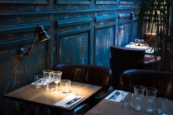 Indian Restaurants in Paris, Marcel Tables