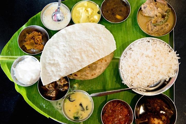 Indian Restaurants in Paris' La Chapelle area for Indian thali meals.