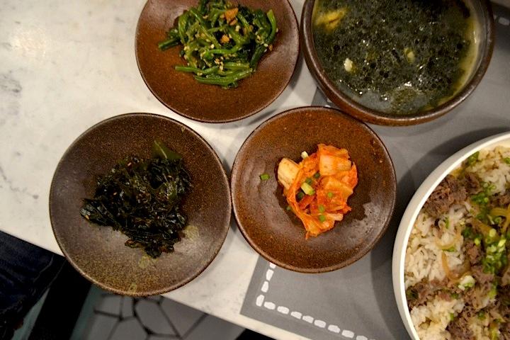 La Jeune Rue, Ibaji Kimchee and Banchan