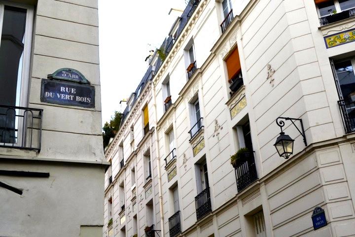 La Jeune Rue, rue de Vertbois and rue de Volta