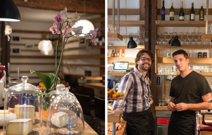 Montage, Inaro, Behind the Counter