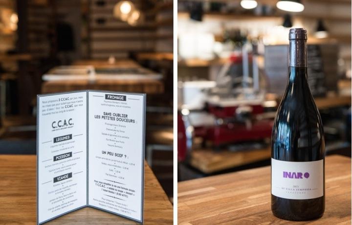 Montage, Inaro, Menu & Wine