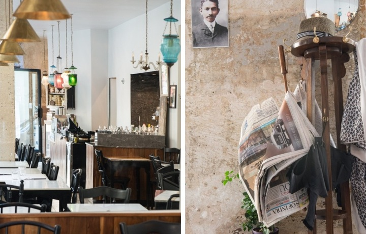 Where to go for the best Indian food in Paris, like at MG Road with its shabby chic decor of brass fixtures and exposed plaster walls.
