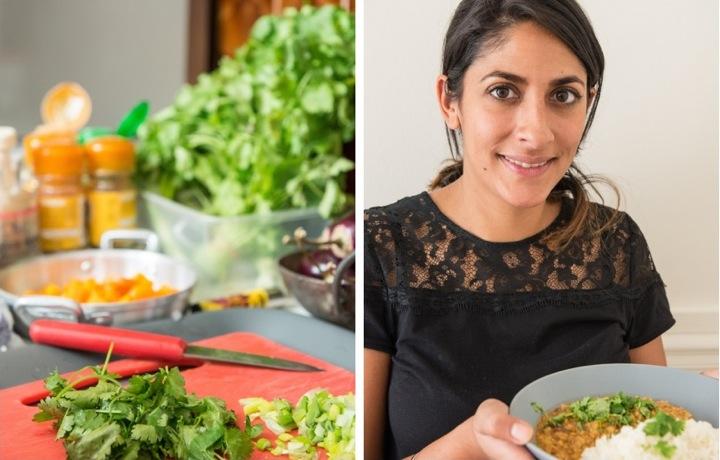 Indian Cuisine in Paris, Sanjee en Cuisine