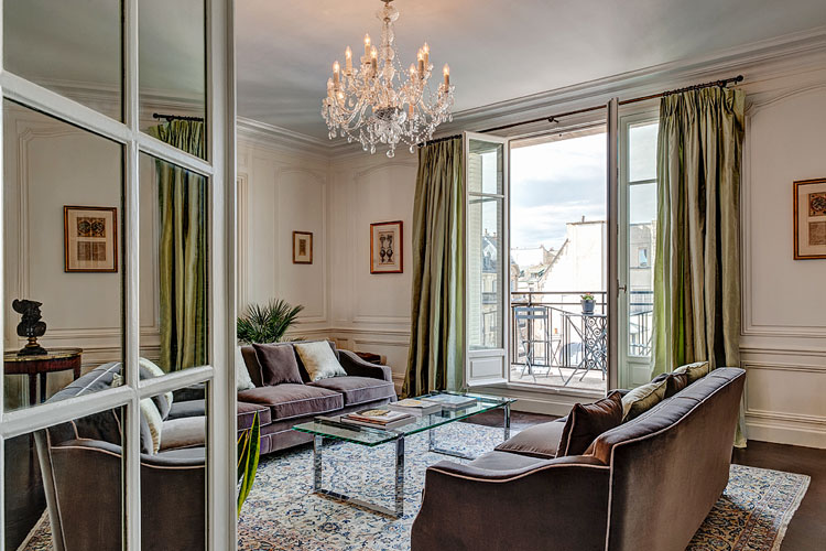 After the renovation of haven in paris victor hugo luxe apartment