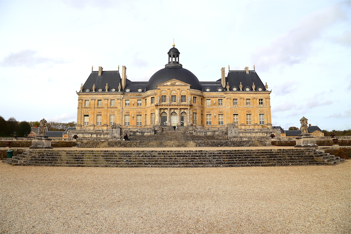 Backside of Vaux-le-Vicomte