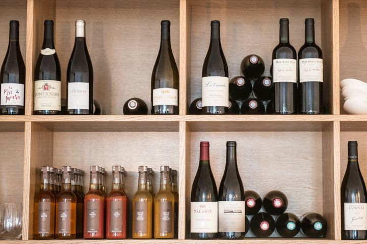 Le Timbre Restaurant, Wine Bottles, Paris Cuisine