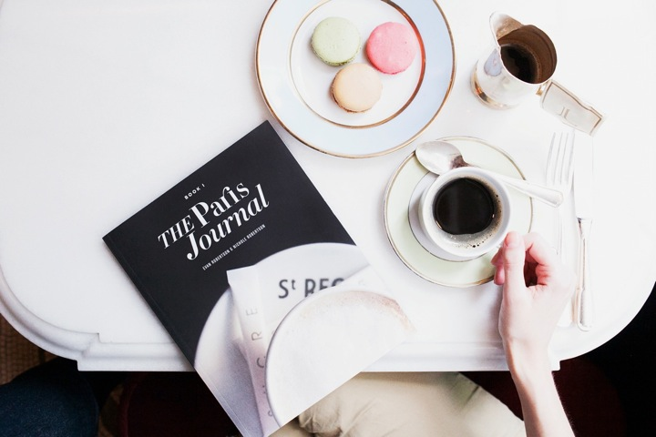 The Paris Journal, French Lifestyle Book by NIchole Robertson