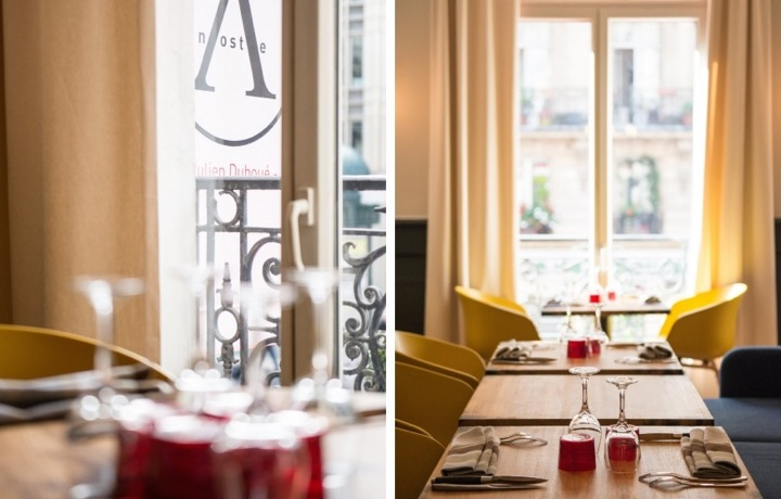 A Noste: After Work Drinks, Tapas Small Plates, and Fine Dining Restaurant in Paris' La Bourse Neighborhood