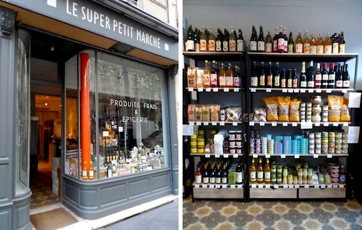 Hip paris blog le super petit march a retro grocer for Retro shop paris