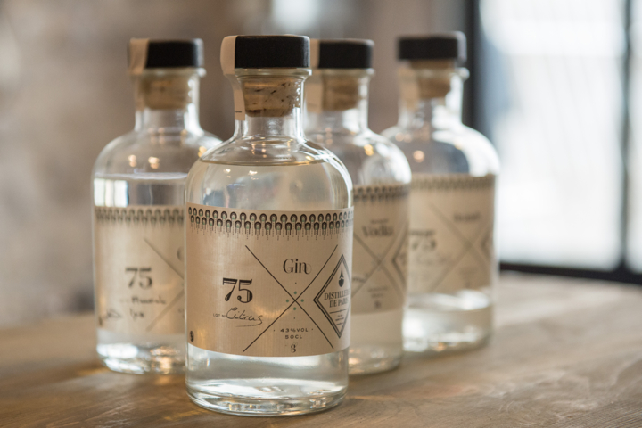 La Distillerie de Paris: Paris' only local distillery, making gin, vodka, and whisky spirits in the 10th arrondissement
