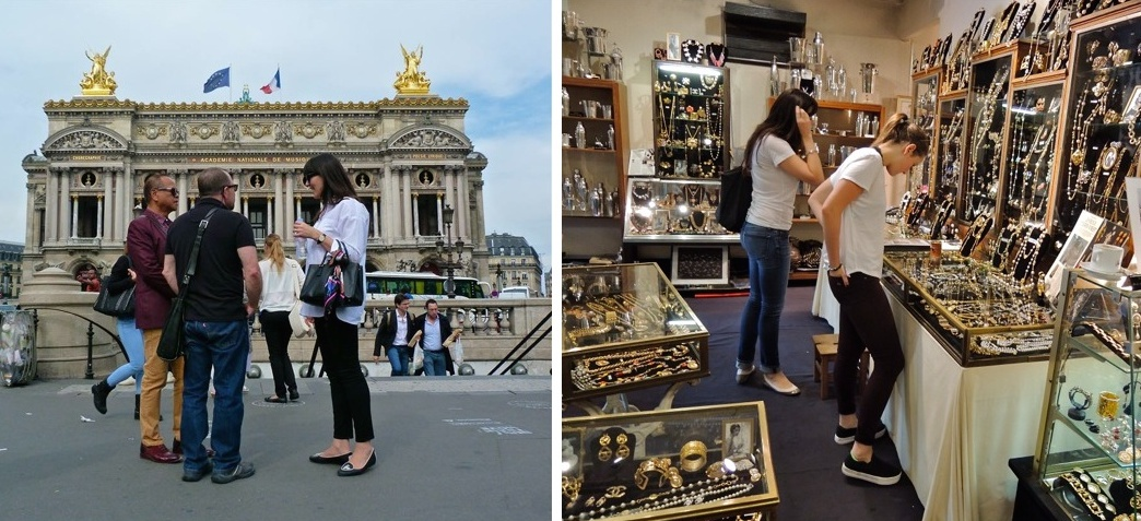 Fine jewelry in Paris. Discover the city's precious stones at museums, historic neighborhoods, and vintage markets