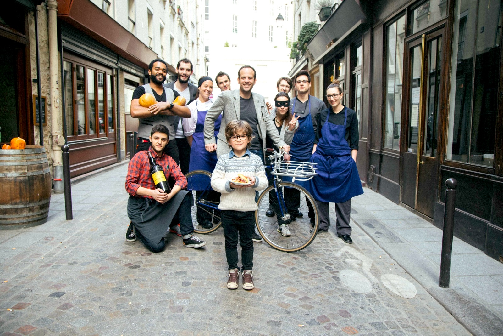 April Events in Paris: Banlieues Bleues, Jean Paul Gaultier at the Grand Palais, Céline Pham at Table Ronde, Amuse Gueule, Super Barquette, Les Plans d'Avril Festival, and Le Fooding's Priceless Souper at Il Brigante.