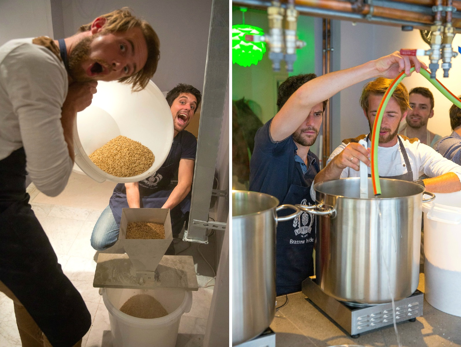 Inside Brew Unique, Paris' newest craft beer address where you can brew your very own batch!