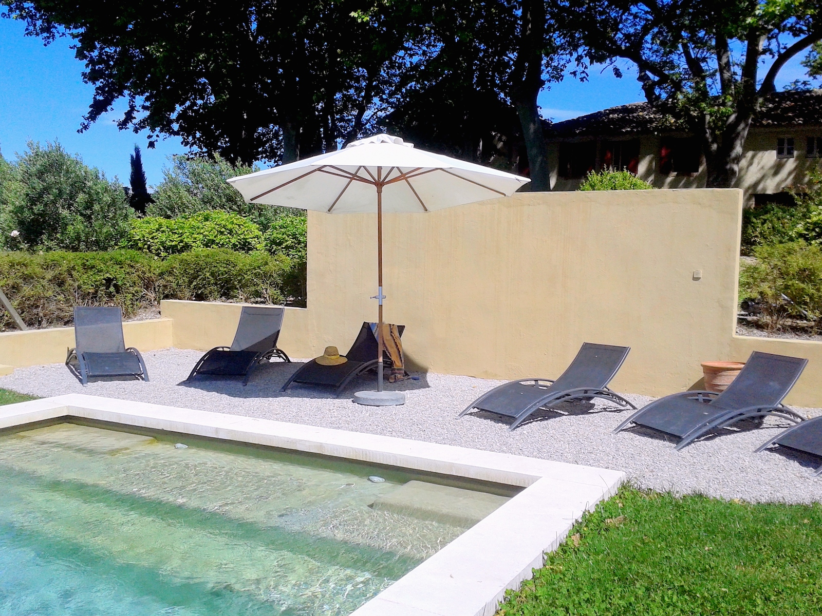 Renting a villa in Provence.