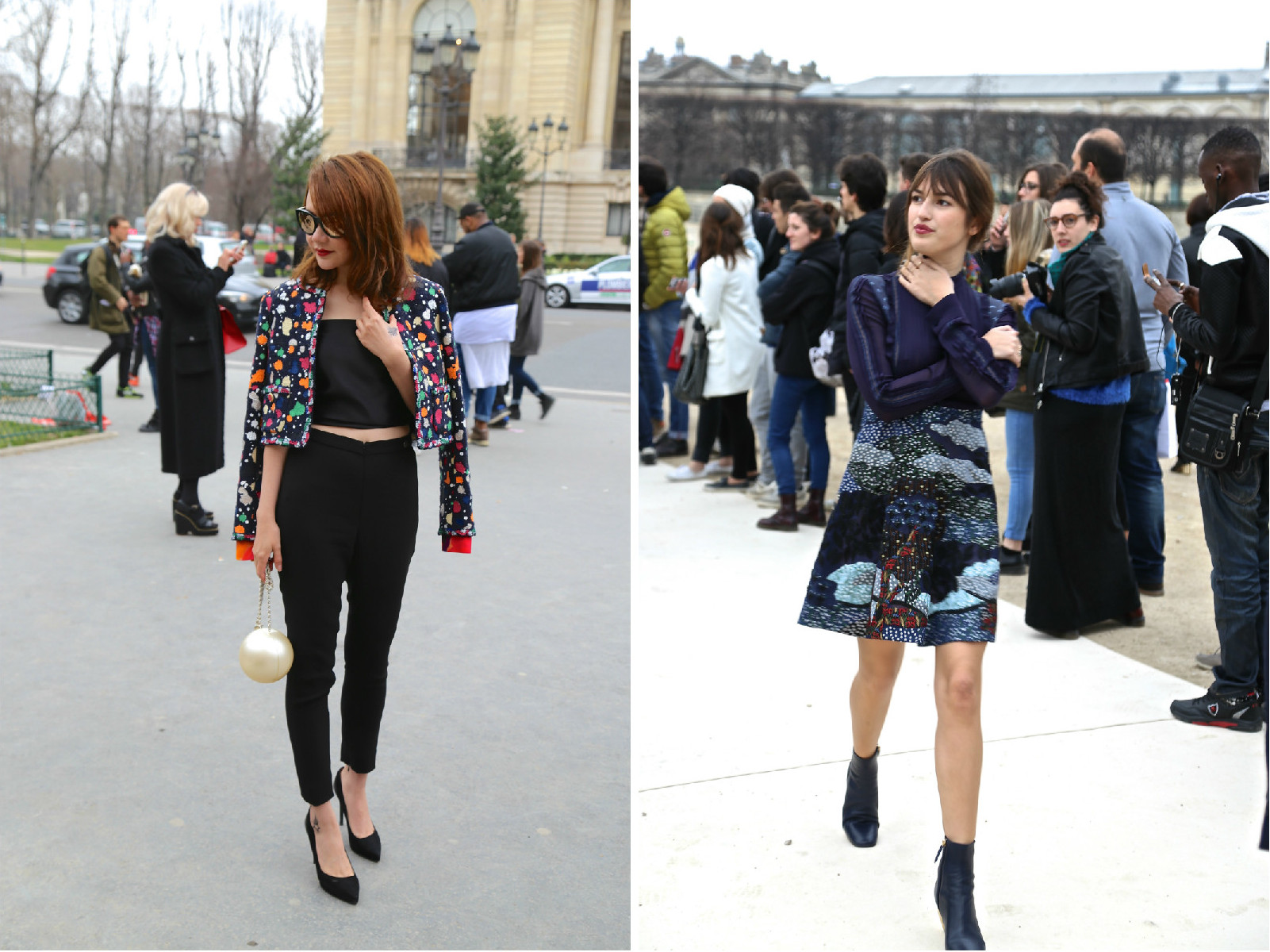 Fabulous street-style tips from this spring's Paris Fashion Week