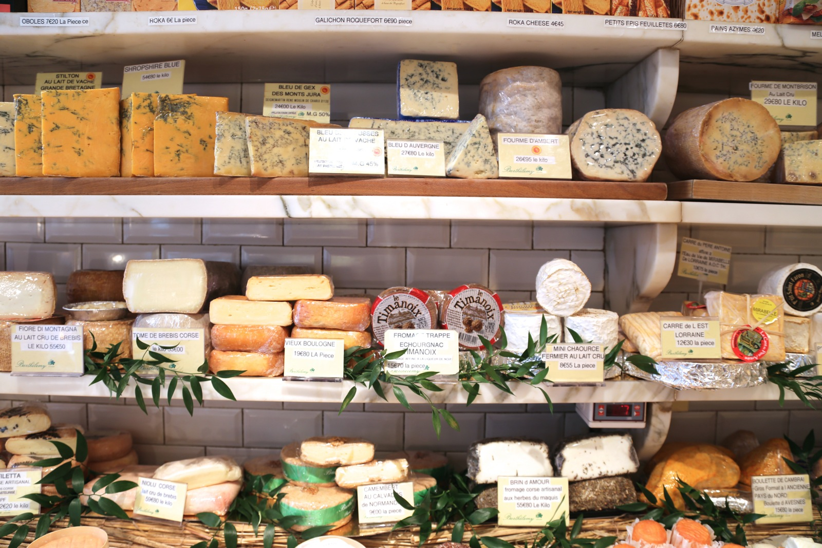 Best Pungent French Cheese and Cheese Shops in Paris