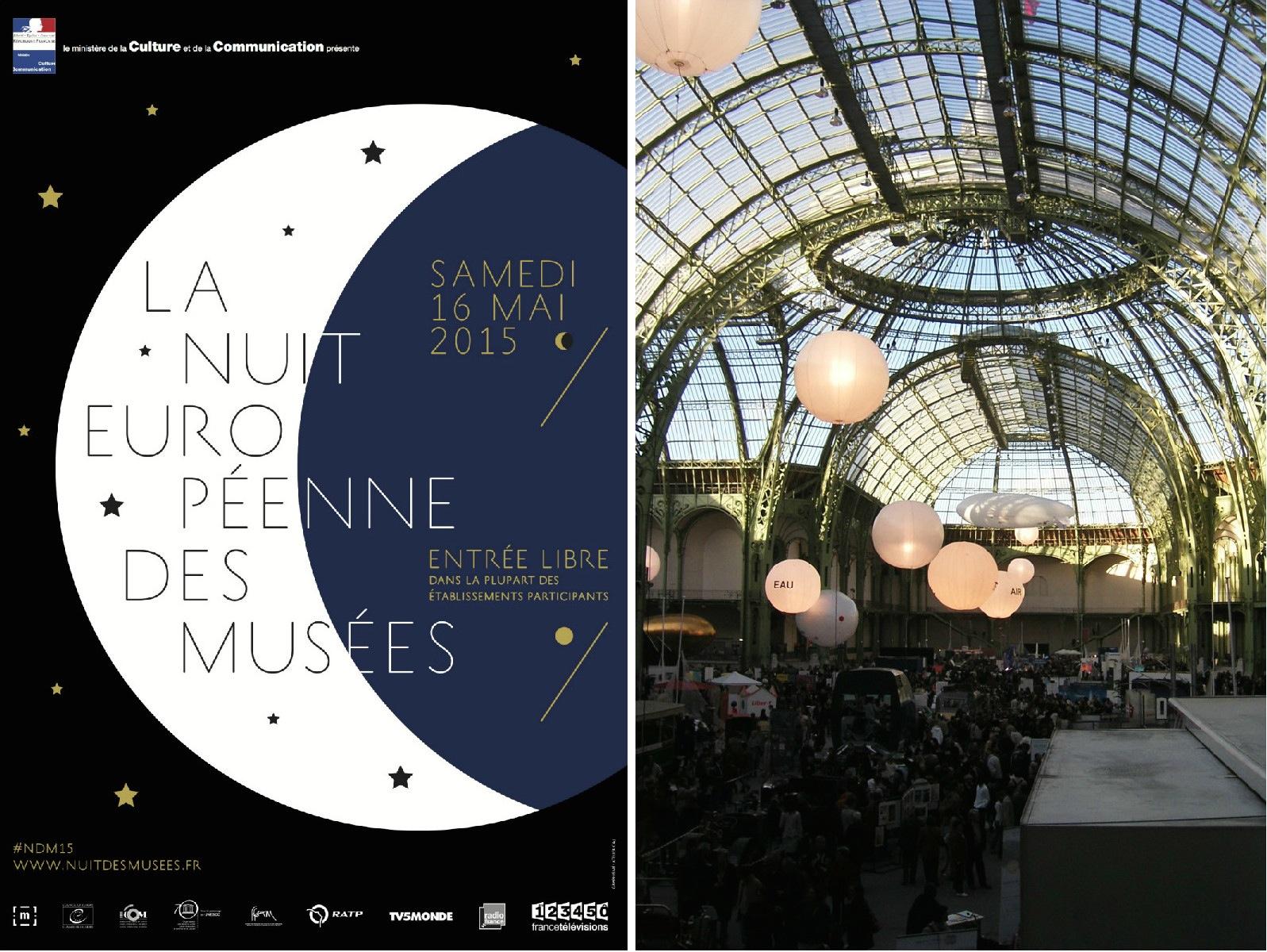 May Events, Montage La Nuit Europeene Web, Grand Palais, Mathieu Thouvenin
