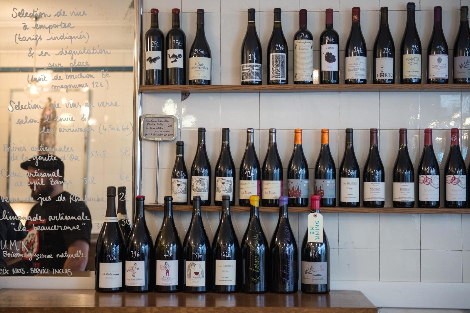 HiP Paris Blog » Paris\' Best Natural Wine Bars & Shops